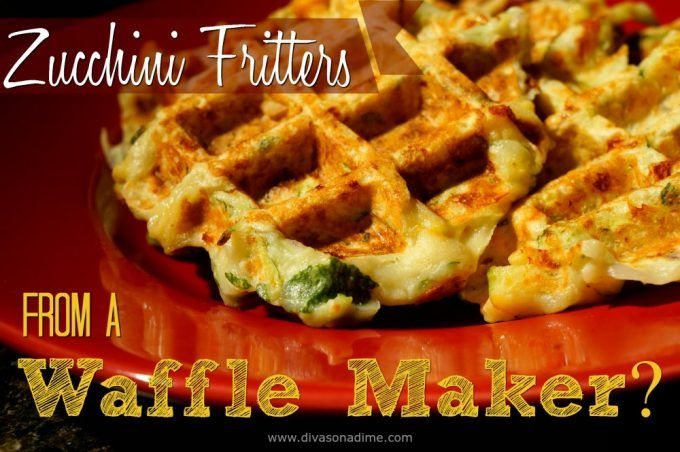 Waffle maker, meet zucchini. Together they make savory, flavorful, golden brown and lightly crisp on the outside yet tender and light on the inside fritters. And cheese, there must be cheese!