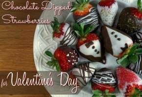 Easy to make chocolate dipped strawberries with detailed, step by step instructions. Lovely for any occasion, especially Valentine's Day!