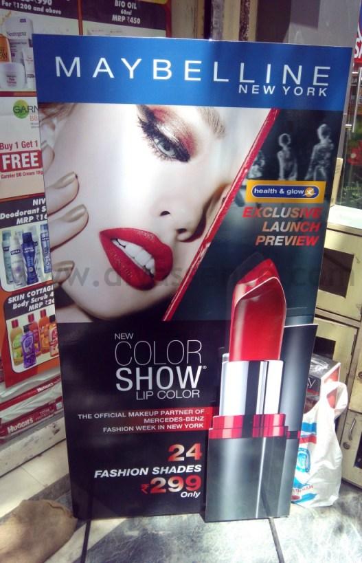 Maybelline Color Show Lipsticks (1)