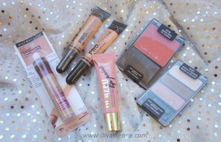 My US Drugstore Makeup Haul, LA Girl, Maybelline, Wenwild