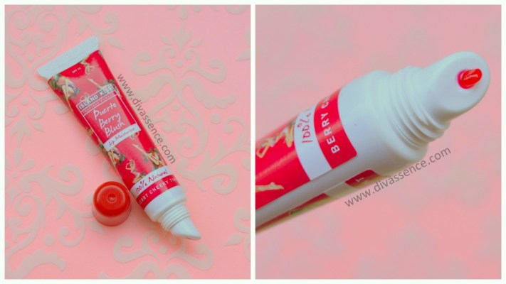 Island Kiss lip moisturizer Puerto Berry Blush price, review, where to buy online in India
