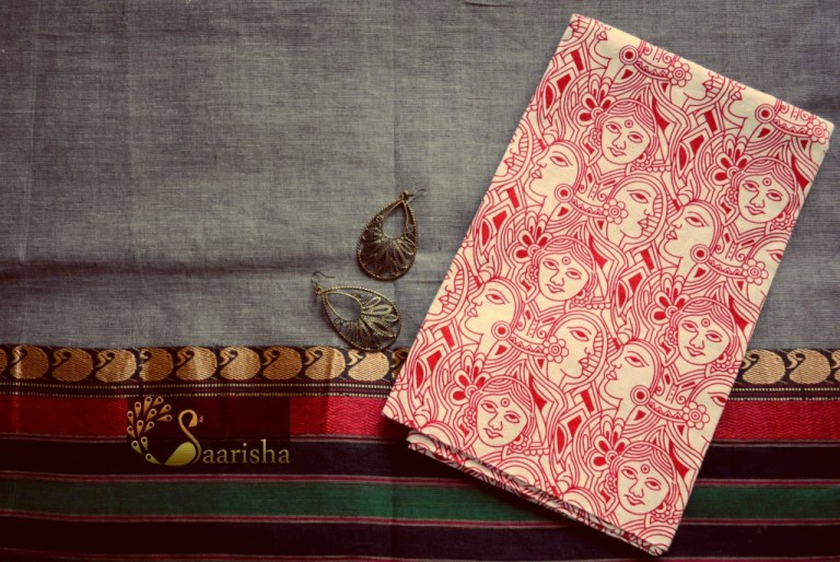 How to style sarees and blouses, Divassence Indian fashion blog, Chennai Saarisha ethnic store, Chennai makeup and fashion blog