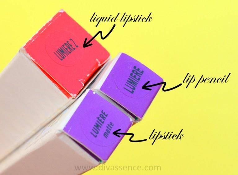 Colourpop lumiere 2 liquid lipstick swatch, review