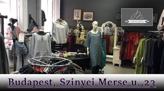 Mamzi Porta; Női langelook ruházati nagykereskedés