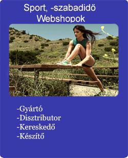 Sport és szabaidő webshopok kép