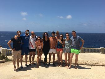 Diving group from Italy!