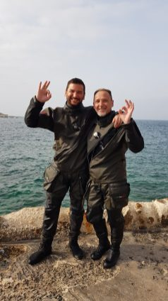 Dry Suit, perfect for all conditions!