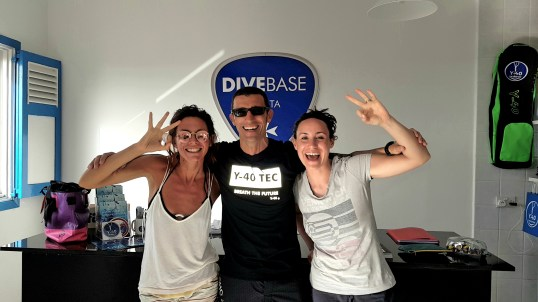 Congratulation Open Water Divers!