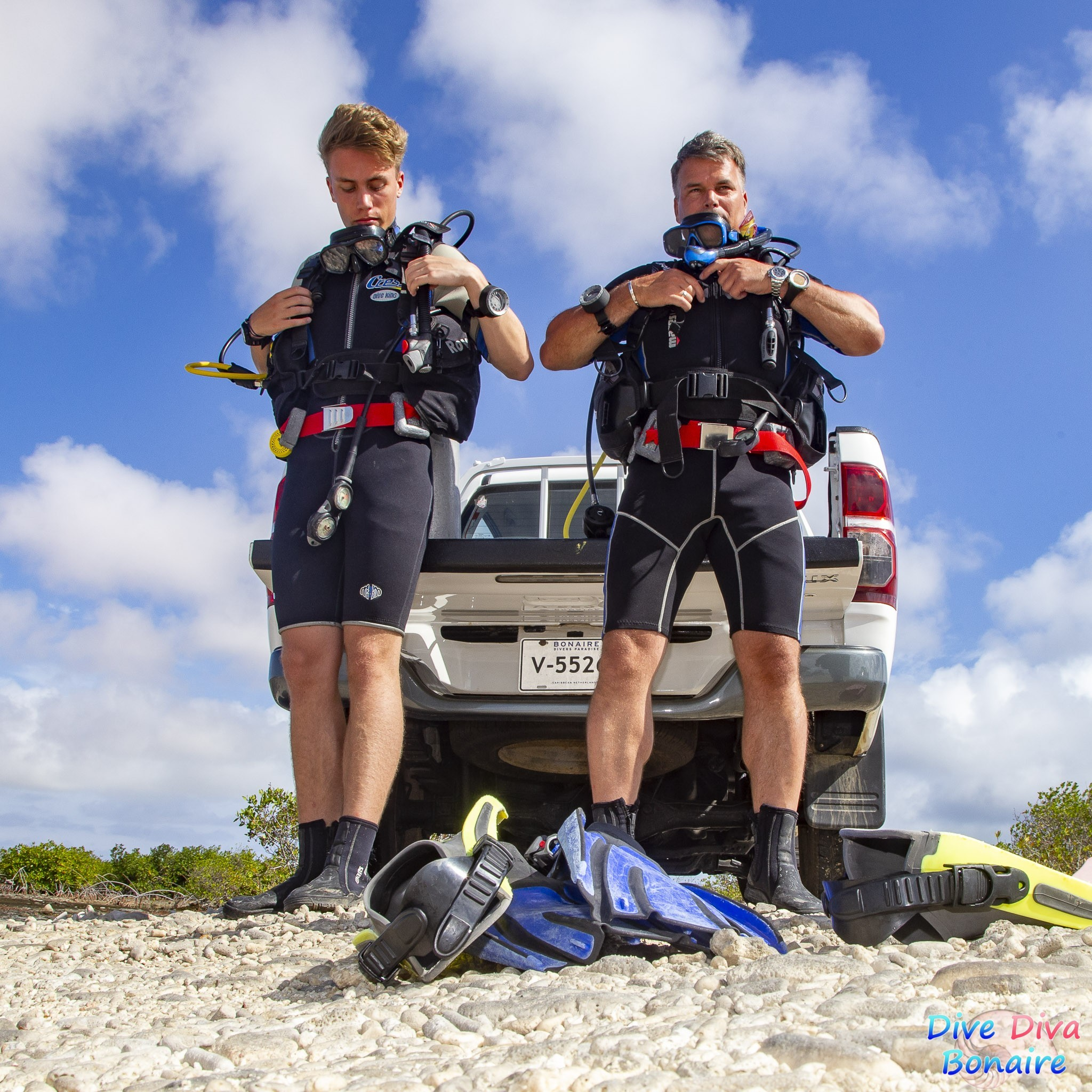 Dive Diva Bonaire - Open water course Aquarius