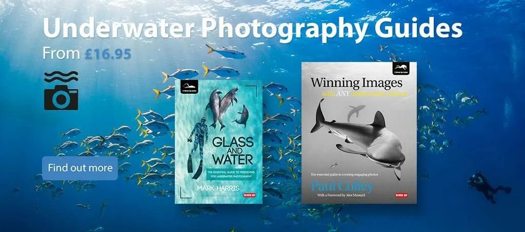 Underwater photography guides from £16.95