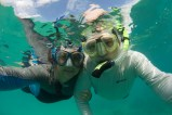 Papa & I out for a snorkel