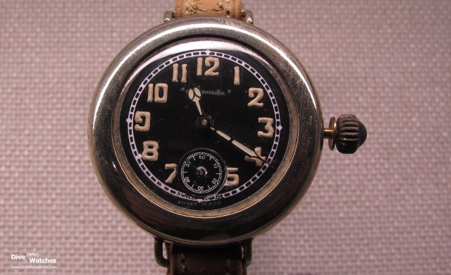 Wasserdichte Armbanduhr von Aquatic