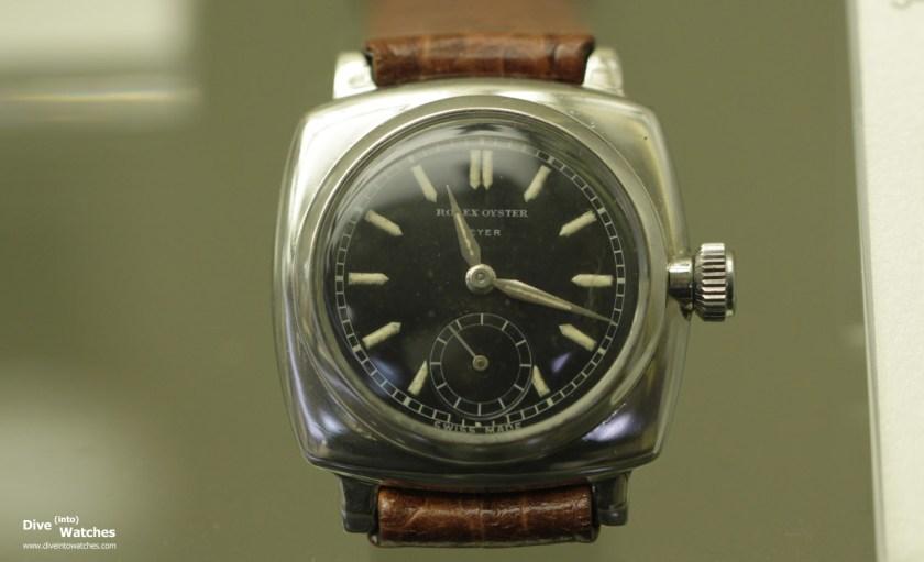 Rolex Oyster Armbanduhr aus dem Jahr 1933