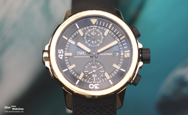 "IWC Aquatimer Chronograph Edition ""Expedition Charles Darwin"" (Ref.   IW379503)"