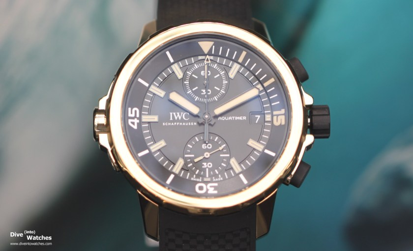 "IWC Aquatimer Chronograph Edition ""Expedition Charles Darwin"" (Ref.   IW379503)"
