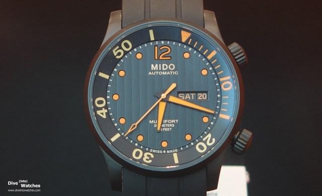 Mido_Multifort_Diver_Black_Front_Zurich_2014