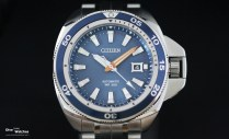 Citizen_Signature_Collection_Grand_Touring_Dive_Watch_300_Blue_Front_Zurich_2014