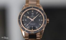 Omega Seamaster 300 Master Co-Axial in Sedna-Gold (Ref, 233.60.41.21.01.001, eingeführt im 2014)