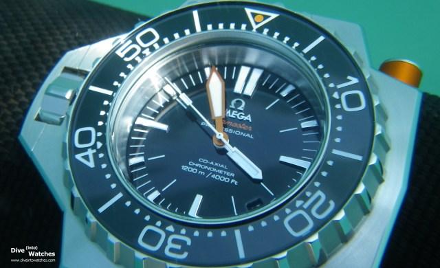Omega Seamaster 1200 Ploprof unter Wasser