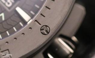 Close-Up: Die Drehringeinlage ist aus Keramik