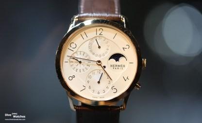 Calendar Watch Prize: Hermès Slim d'Hermès QP