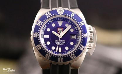 Front-Ansicht Luminox Deep Dive 1500
