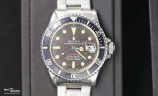 Rolex Submariner Single Red (1970)