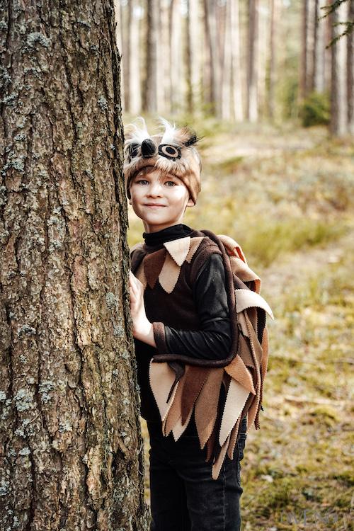 owl costume for kids