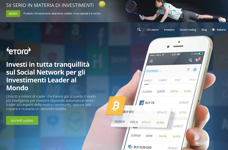 Migliori piattaforme trading criptovalute alla scoperta di eToro