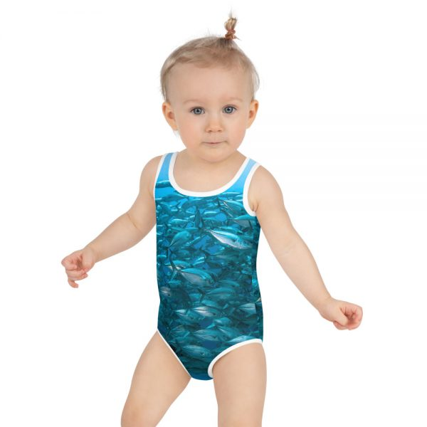 Diver Dena's Adventure Shop-School of Jacks Swimsuit 2T-7