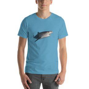 Diver Dena's Adventure Shop- Tiger Shark T-shirt Dena's Adventure Shop- Tiger Shark T-shirt