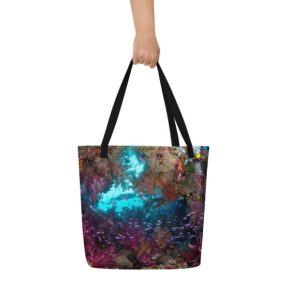 Diver Dena's Adventure Shop-Spectacular Reef Beach Bag