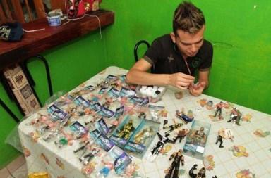 Luis Ángel Santana, una peculiar pasión por la lucha libre