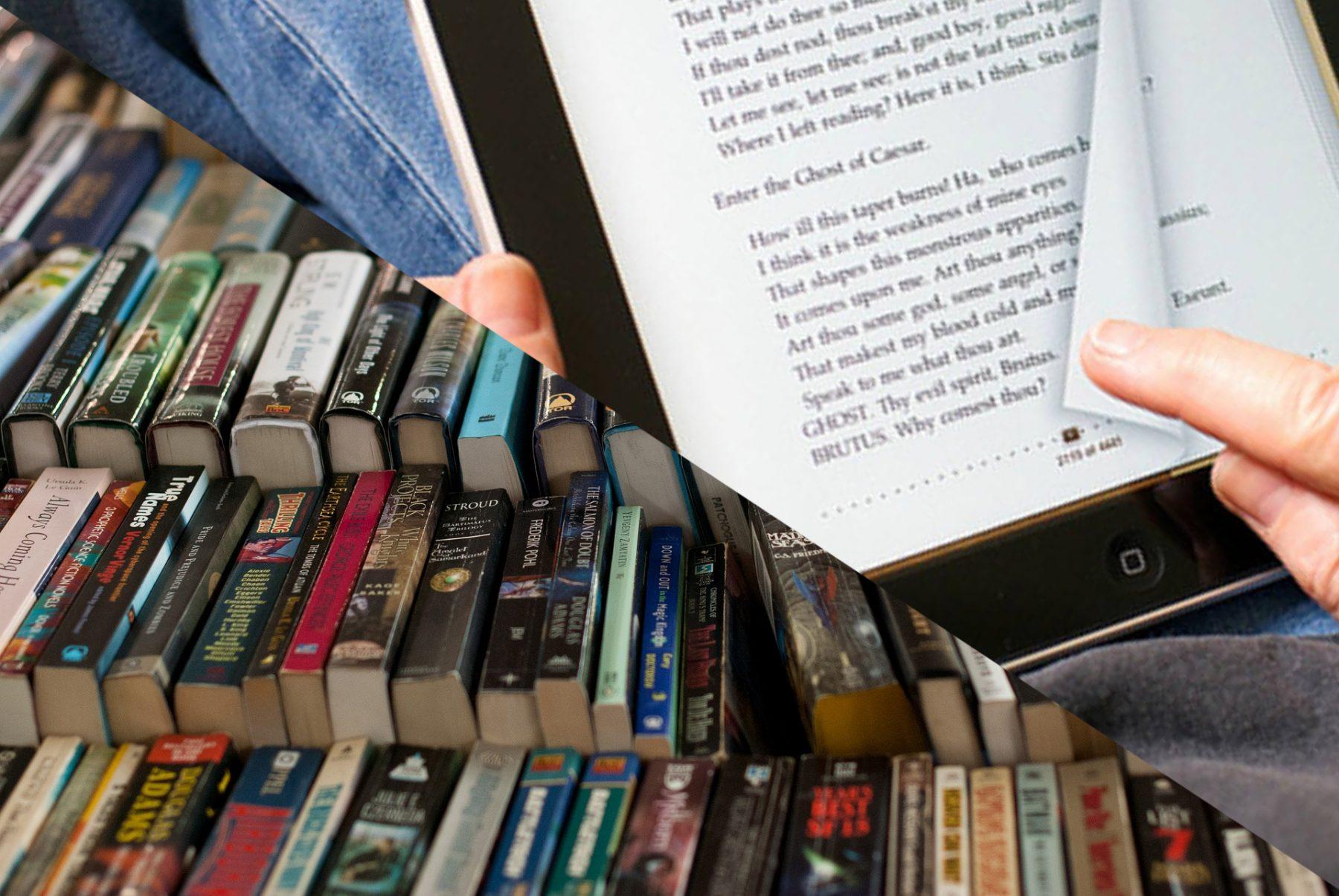 Mexicanos combinan libros tradicionales con formatos digitales para leer