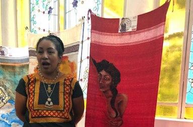 107 rebozos: Una protesta desde el arte sobre la desigualdad de género