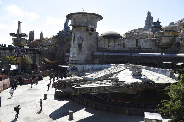 Todo listo para viajar a una galaxia muy lejana: 'Star Wars Galaxy's Edge'