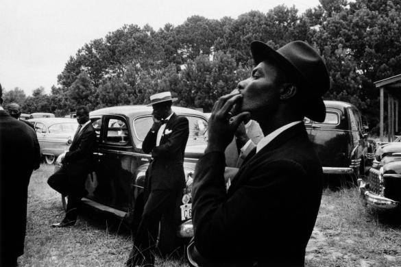 FuneralSt. Helena - Carolina del Sur 1955 - The Americans | Robert Frank