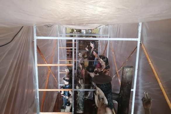 Restauran a la patrona de San Juan Cancuc, bajo supervisión del INAH