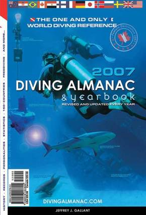 The Diving Almanac in glorious print, 2007