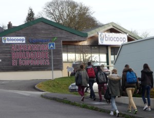 Arrivée sur le terrain d'enquête : la Biocoop de Quimper