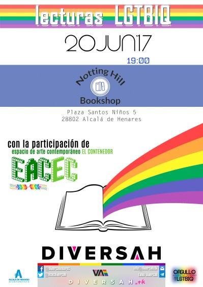 20JUN'17 - Lecturas LGTBIQ