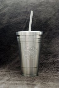 Starbucks stainless steel travel cup