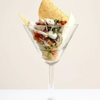 Lump Crab and Guacamole Martini