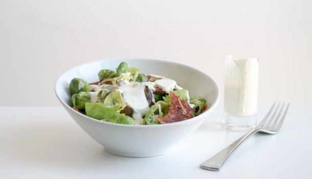 Brussels Sprout Salad by Diverse Dinners