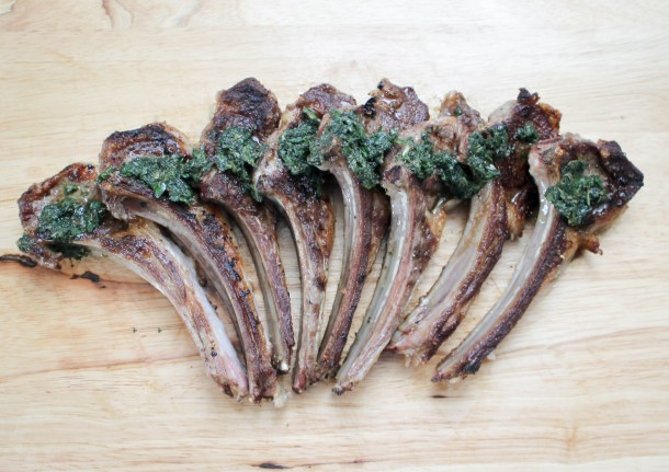 Lamb Chops with Mint Sauce by Diverse Dinners