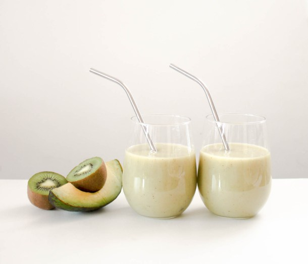 Apple Avocado Smoothie by Diverse Dinners