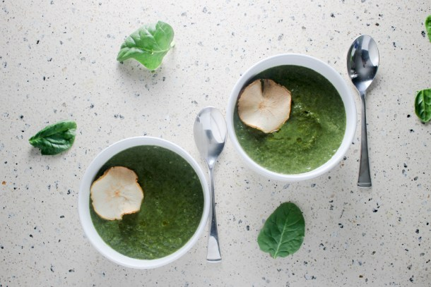 Spinach Soup by Diverse Dnners