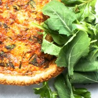 Tuna and Kale Quiche