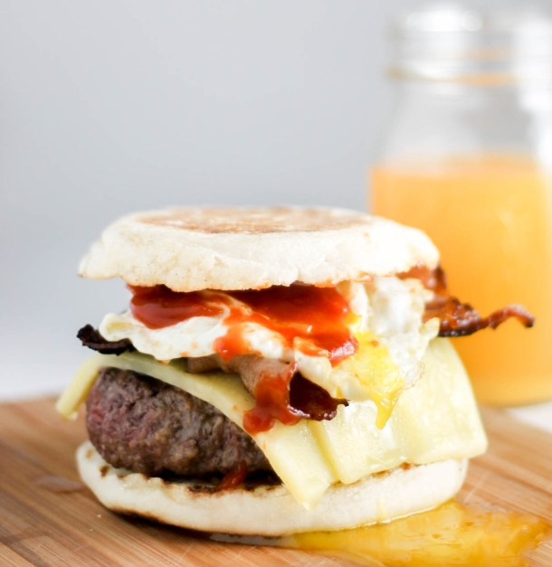 Brunch Burger by Diverse Dinners