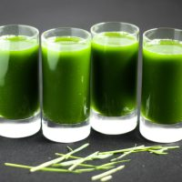 Pineapple Wheatgrass Shots